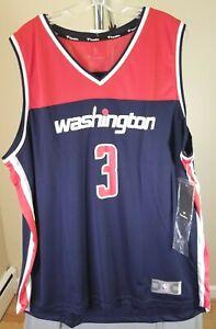 Washington Wizards NBA Fanatics Classic Blue & Red Bradley Beal #3 2XL Jersey