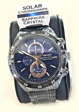 Seiko Criteria Solar Power Chronograph 100m Men's Watch SSC539P1