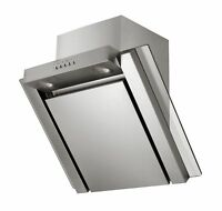 Exhaust Hood Free SLANTED EDGE Extraction LED 60cm Stainless Steel Glass