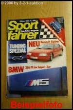 Sportfahrer 3/85 BMW M5 Renault Alpine VW Golf I Allrad