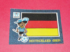 PANINI FOOTBALL 1978 ECUSSON JEAN DENIM DEUTSCHLAND ARGENTINA 78 WC WM MUNDIAL