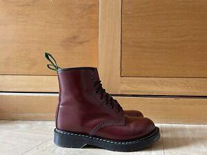 NPS SOLOVAIR Derby Oxblood Leather 8 Eye Derby Boot Size UK7