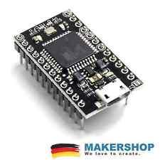 Arduino Pro Micro USB komp. ATmega 32U4 5V/3.3V 16MHz Leonardo Mini Entwicklu...