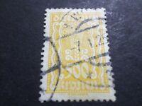 AUTRICHE 1922, timbre CLASSIQUE 280, oblitéré, VF used STAMP