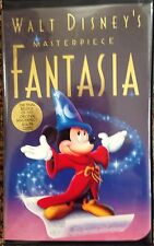 FANTASIA- VHS (Disney) with Sticker/Proof Of Purchase/Inserts OOP