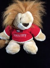 """Tommy Hilfiger Lion Red Sweater Plush Soft Toy 15"""""""