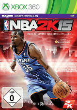 NBA 2K15 (Microsoft Xbox 360, 2014, DVD-Box)