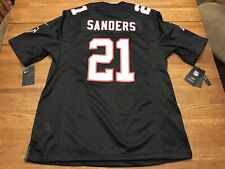 New listing Nike Atlanta Falcons Deion Sanders Retired Player Jersey Size LARGE 479407-021