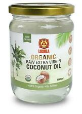 USDA CERTIFIED ORGANIC RAW EXTRA VIRGIN COCONUT OIL | NO CHEMICALS| PARABEN FREE