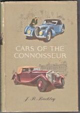 Cars of the Connoisseur Book J R Buckley 1962 Hardcover Dust Jacket