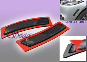 FOR 2014-2019 BMW F32 F33 F36 4-SERIES SMOKE SIDE MARKER LAMPS BUMPER REFLECTOR