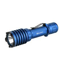 Olight WARRIOR X PRO # Limited Edition BLAU # taktische Taschenlampe # NEUWARE