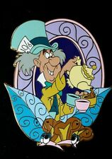 Mad Hatter from Alice in Wonderland Disney Shopping Pin LE 100 Tea Cups