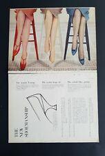f337540ae5b 1958 women s Bur-Mil Cameo Hanes enchantress stockings nylons legs ad
