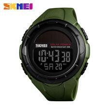SKMEI Watch Digital Men Sport Watches Creative Solar Power Waterproof Wristwatch