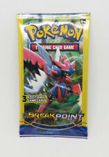 Pokemon Trading Card Game Breakpoint Pack of 3 Game Cards Unopened Sealed