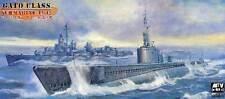AFV-Club U boat US Gato 1942 Submarine model kit & Etched parts 1:350 Navy kitS
