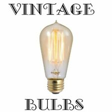 30 Watt ~ E26 EDISON BASE ~ VINTAGE STYLE { Squirrel Cage } ~  Light Bulb