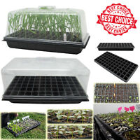 SEED STARTER PROPAGATION KIT TRAY 72 Cell Seedling Plant Clone Greenhouse Dome