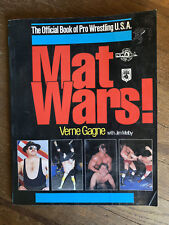 Mat Wars by Verne Gagne The Official Book of Pro Wrestling USA AWA NWA WWE 1985