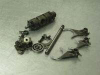 TRIUMPH TROPHY 1200 98 TRANSMISSION SHIFT FORKS DRUM SHAFT STAR 15K MILES
