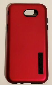 Incipio DualPro Series Case for Samsung Galaxy J3 - Iridescent Red/Black