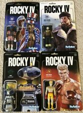 ROCKY IV Super7 4pc Collection ReAction Set Balboa, Apollo, Drago, Sico NEW