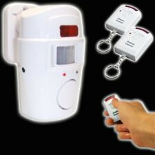 Sensor ALARMANLAGE 2 x Fernbedienung FUNK Bewegungsmelder Schutz Boot LEDs Alarm