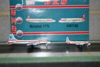 JC Wings 1:400 BKS Air Bristol Britannia & HS-748 G-ANBH & G-ARRW (JC4111)