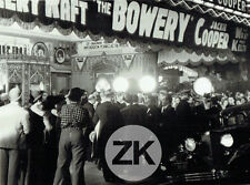 THE BOWERY Cinéma MOVIE THEATRE New York  BEERY RAFT R. Walsh COOPER Photo 1933