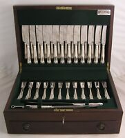 GADROON Design GEORGE BUTLER Silver Service 127 Piece Canteen of Cutlery
