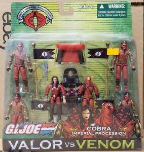G.I. Joe Valor Vs Venom - Cobra Imperial Procession 6-Figure Pack