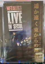 Dvd Metallica Live In Seoul Nuevo Precintado