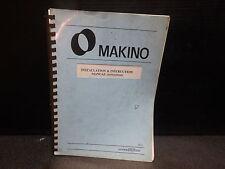 Makino Installation & Instr Manual_Mpi02_Fx650_Mifx65 09202_August 1993 Ver 2.0
