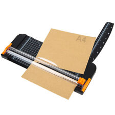 12 inch Paper Trimmer A4 Size Paper Cutter with Automatic Security Safeguard US