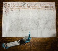 1785 Bier Bierbrauerei Brauerei Beer Brewer Diploma Diplom Urkunde Heidelberg