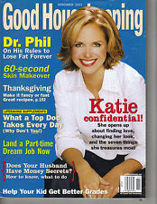 KATIE COURIC Good Housekeeping Magazine 11/03 CONFIDENTIAL