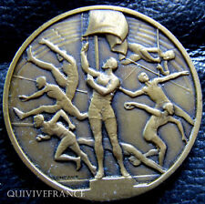 MED2344 - MEDAILLE SPORTS ATHLETISME MILITAIRE par CONTAUX - FRENCH MEDAL