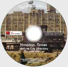 TX - Houston 1942 City Directory CD