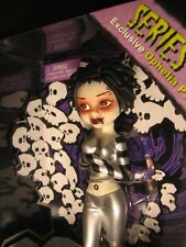"Bleeding Edge Goth Dolls 7""Ophelia Pain Exclusive series 2 Silver In sealed Box"