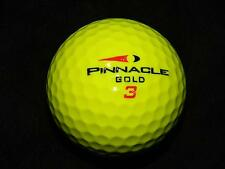 "20  PINNACLE ""GOLD DISTANCE"" - ""YELLOW"" Golf Balls - ""PEARL/A"" Grades."