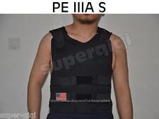 PE Bullet Proof Vest body armor NIJLevel IIIA 3A S