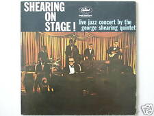 """THE GEORGE SHEARING QUINTET LIVE ON STAGE 12"""" LP (L2231)"""