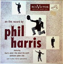 PHIL HARRIS - ON THE RECORD BY - RCA LABEL  - (3) 45'S - BOX SET
