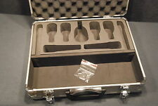 Audix Locking Aluminum Microphone Flight Case DP7 D2 D4 D6 ADX-51 i5 Hard Case