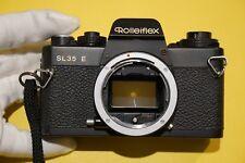 Rolleiflex SL35 E Black. Gehäuse.