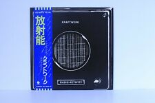 Kraftwerk ‎– Radio-Activity 1975 Capitol Records Japan ECS-80418 Vinyl LP Obi
