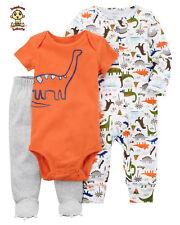 Carter's 3 pc Set w/ Bodysuit, Jumpsuit and Footed Pants, size: newborn