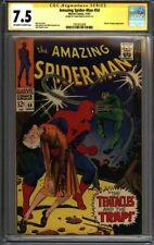 * Amazing SPIDERMAN #54 CGC 7.5 Signed Romita Doc Ock! (1957672009) *