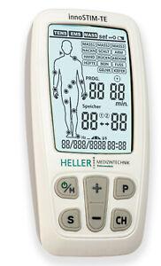 TENS Gerät, EMS, 3-in-1 Reizstrom, Schmerztherapie, Elektrotherapie, Massage